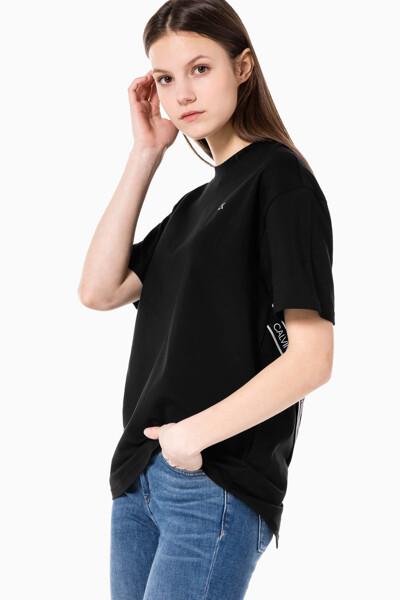 여성 액티브 아이콘 오버랩 보이프렌드 티셔츠 4WS1K140-007 4WS1K140007