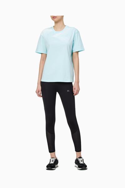 여성 모노그램 그래픽 힙 렝스 티셔츠 4WS1K112-401 4WS1K112401
