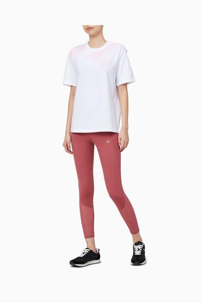 여성 모노그램 그래픽 힙 렝스 티셔츠 4WS1K112-100 4WS1K112100
