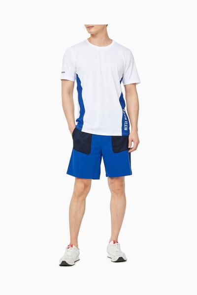 남성 리플렉션 컬러블록 트레이닝 티셔츠 4MS1K258-100 4MS1K258100