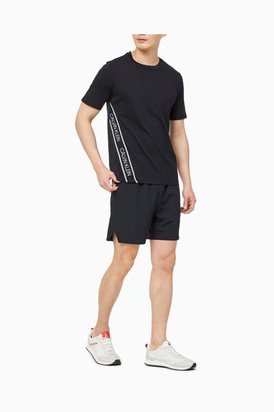 남성 액티브 아이콘 투톤 엘라스틱밴드 티셔츠 4MS1K263-007 4MS1K263007