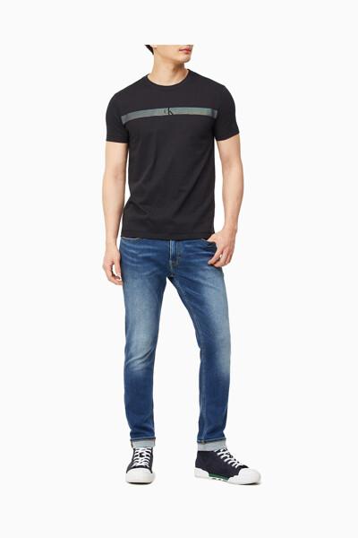 남성 호라이젠털 CK 패널 티셔츠 J317165-BEH J317165BEH