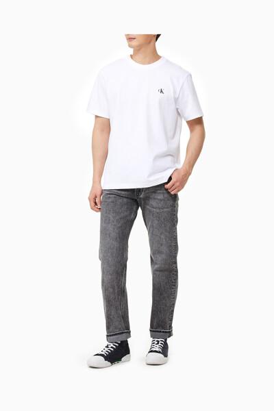 남성 백 패션 로고 릴렉스핏 반팔 티셔츠 J318107-YAF J318107YAF