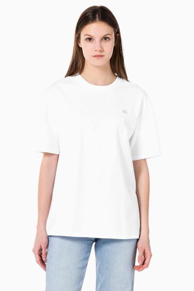 여성 액티브 아이콘 오버랩 보이프렌드 티셔츠 4WS1K140-100 4WS1K140100