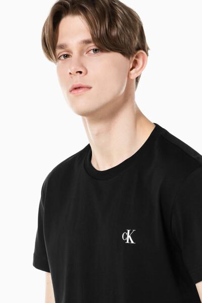 남성 레귤러핏 CK 로고 2Pack 반팔 티셔츠 J319566-BEH J319566BEH