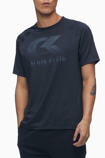 남성 트랜스루센트 쿨터치 써모 그래픽 티셔츠 4MS1K134-007 4MS1K134007