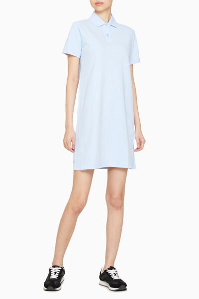 여성 로고 카라 폴로 반팔 드레스 4WT1D955-407 4WT1D955407