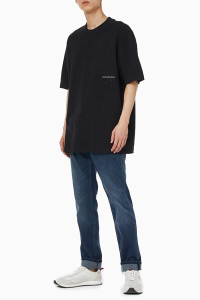 남성 오프 플레이스 오버사이즈 반팔 티셔츠 J318228-BEH J318228BEH