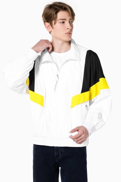 남성 컬러 블로킹 트랙 재킷 J318369-YAF J318369YAF