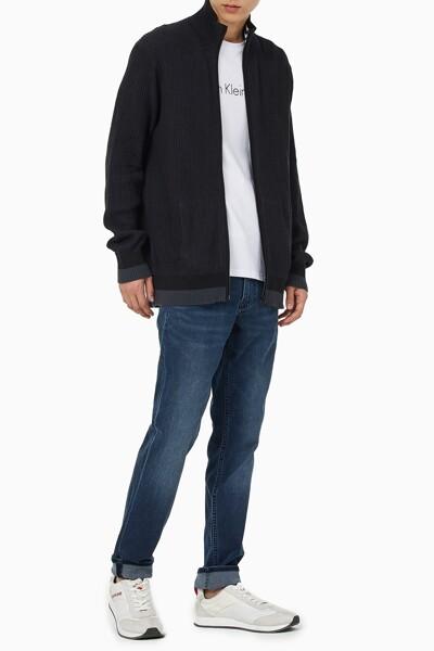 남성 패션핏 집업 스웨터 J318353-BEH J318353BEH