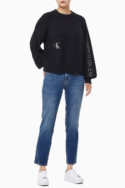 여성 퍼프 슬리브 스웨터 J217262-BEH J217262BEH