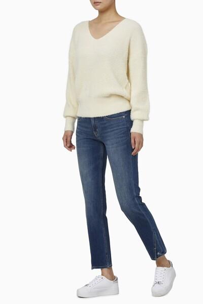 여성 플러피 브이넥 스웨터 J216596-ACJ J216596ACJ