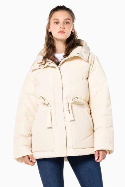 여성 미드 렝스 페미닌 다운 재킷 J218942-ACJ J218942ACJ