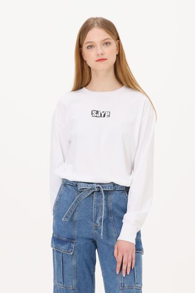 면 루즈핏 로고 티셔츠