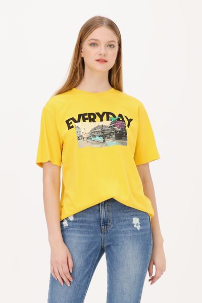 면 디노 시티 반소매 티셔츠