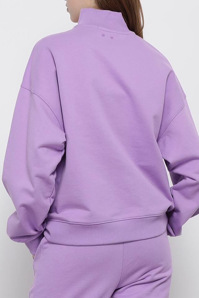 코튼 오버핏 로고 그래픽 아노락 티셔츠