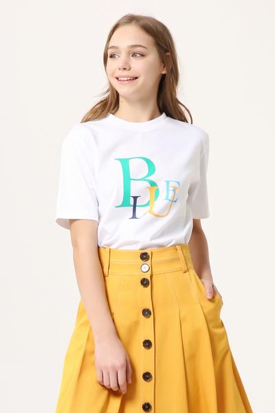 면 로고 반소매 티셔츠