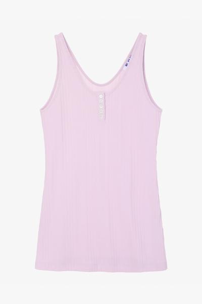 심플 슬리브리스 티셔츠