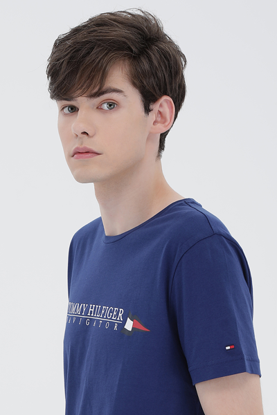 코튼 세일링 플레그 반소매 티셔츠