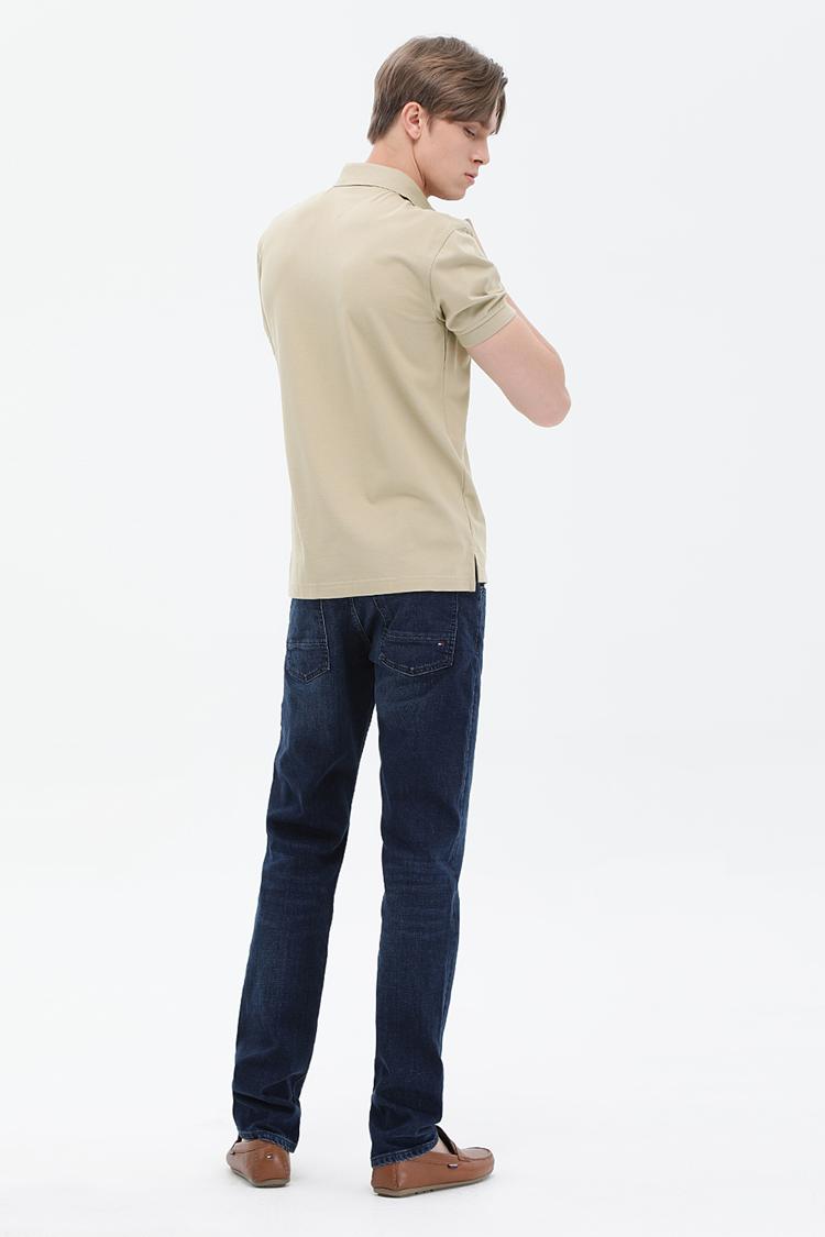 솔리드 카라넥 티셔츠