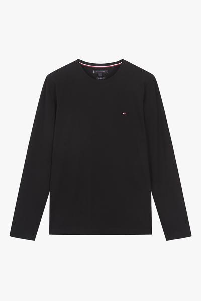 스트레치 슬림핏 플래그 티셔츠
