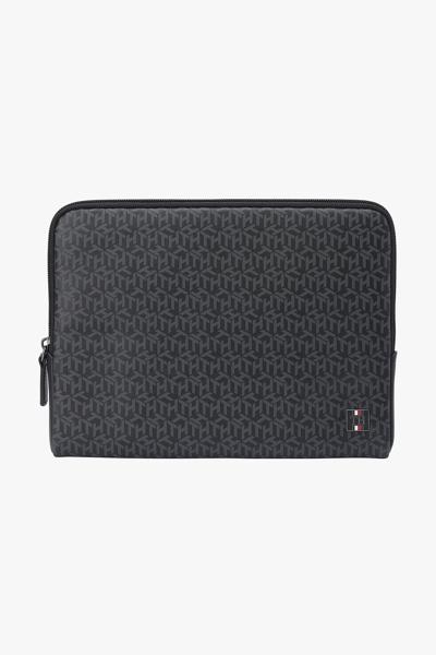 가죽 모노그램 태블릿 지갑