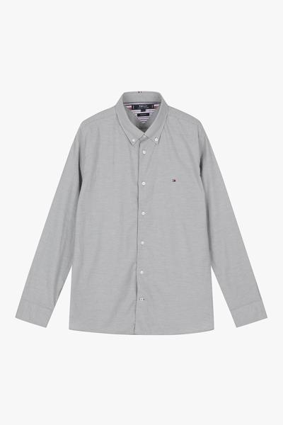 면혼방 레귤러핏 헤링본 셔츠