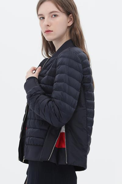오리털 레귤러핏 아이콘 봄버 자켓