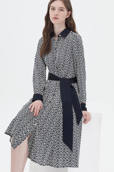 폴리 스탠다드핏 아이콘 틸다 드레스