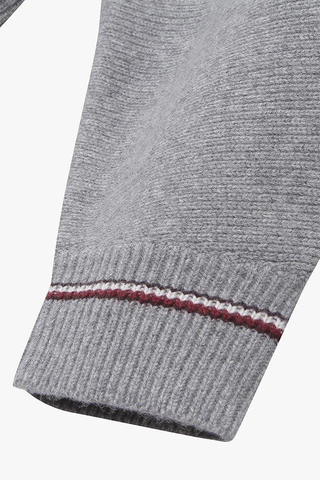 캐시미어혼방 크레스트 클래식 후드 스웨터