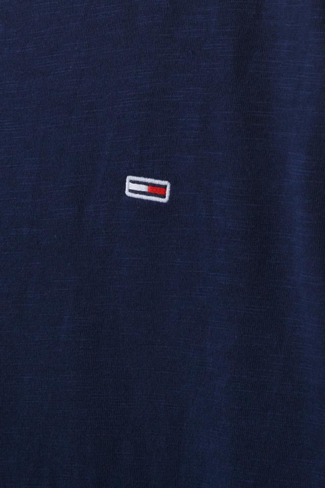 코튼 솔리드 긴소매 티셔츠