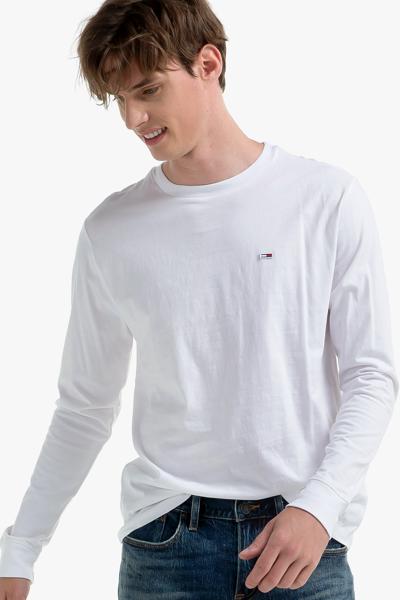 코튼 베이직 긴소매 티셔츠