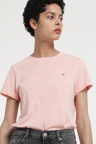 면 혼방 스탠다드핏 파스텔 티셔츠