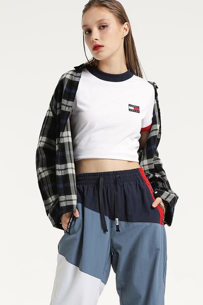 코튼 레귤러핏 타탄체크 셔츠