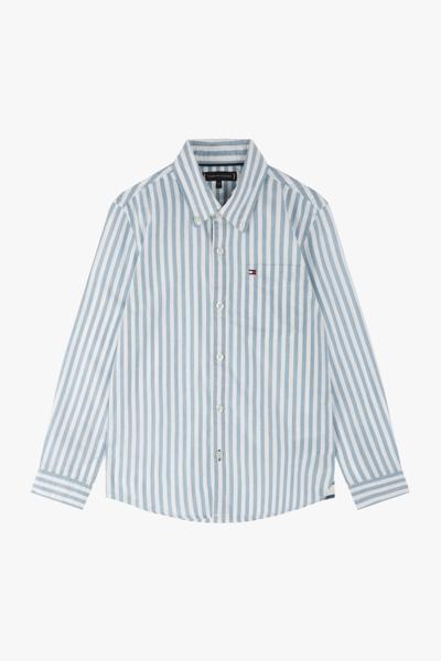 면혼방 베이직 스트라이프 셔츠