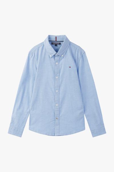 면혼방 베이직 긴소매 셔츠