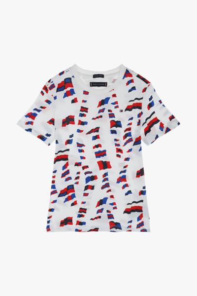 코튼 프린팅 반소매 티셔츠