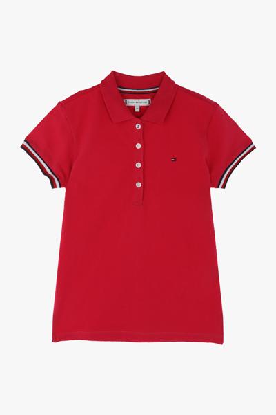 면혼방 티핑 폴로 티셔츠