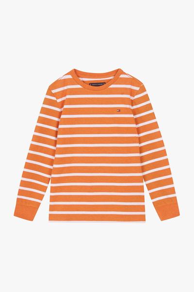 면혼방 레귤러핏 스트라이프 티셔츠
