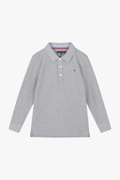 면혼방 스탠다드핏 플래그 컬러블록 폴로 셔츠