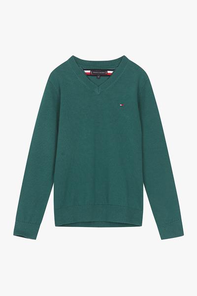 레귤러핏 플래그 스웨터