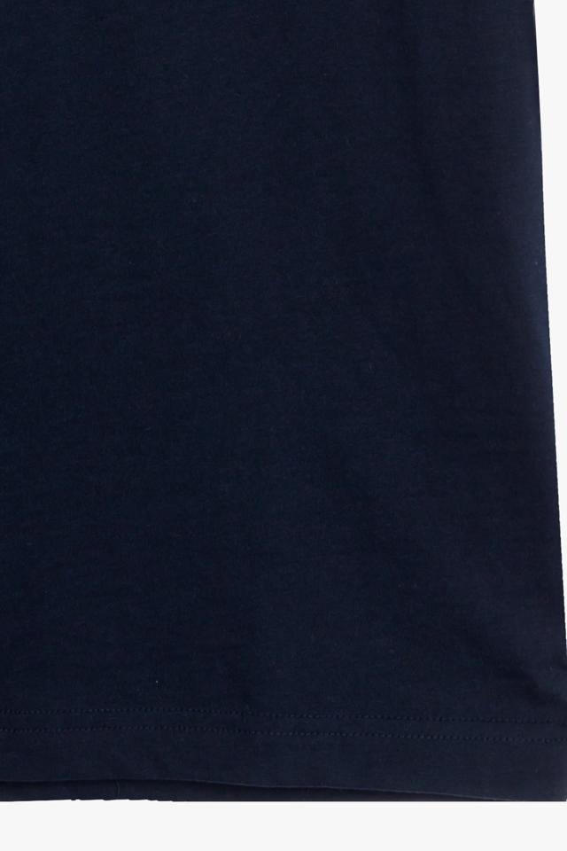 코튼 레터링 반소매 티셔츠