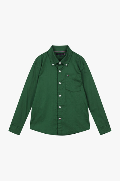[남아] 면 혼방 스탠다드핏 옥스포드 셔츠