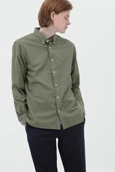 코튼 레귤러핏 모던 베이직 셔츠