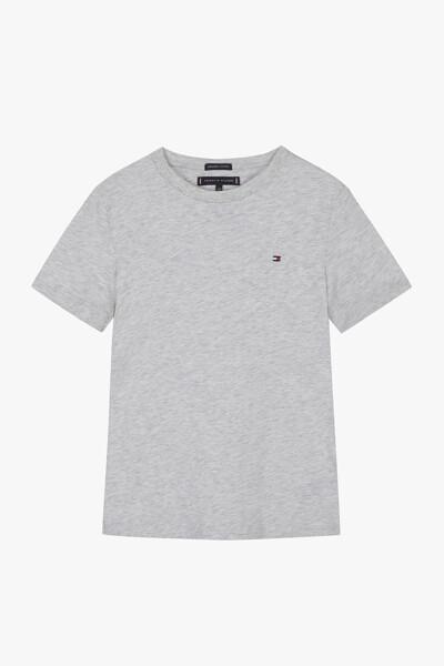 코튼 미니 플래그 반팔  티셔츠