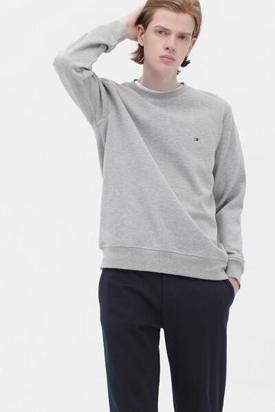 면혼방 미니 플래그 스웨트 셔츠