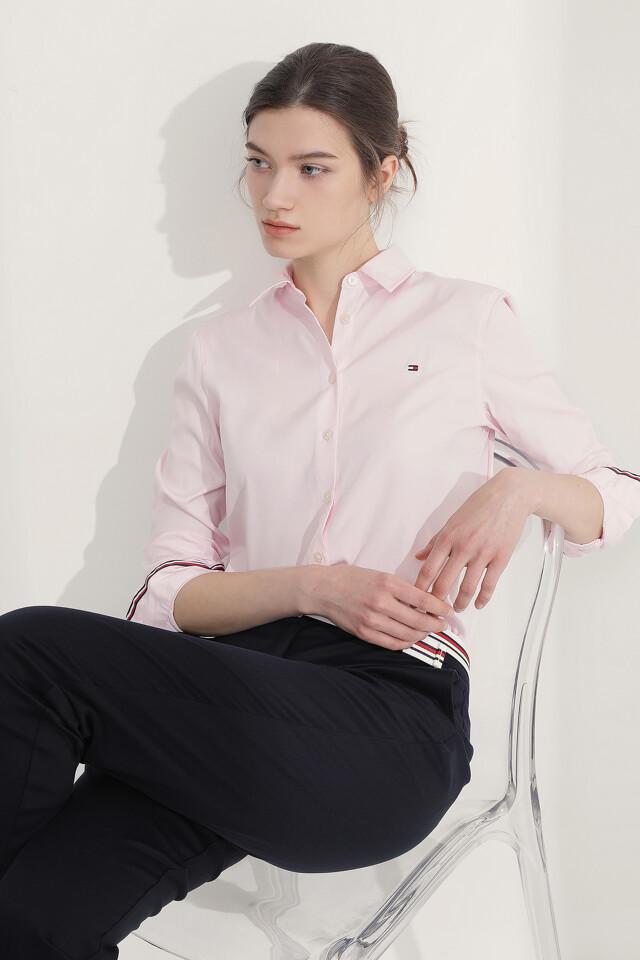 타미 클래식 솔리드 셔츠