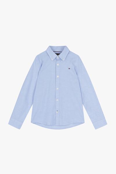 면혼방 스탠다드핏 심플 셔츠