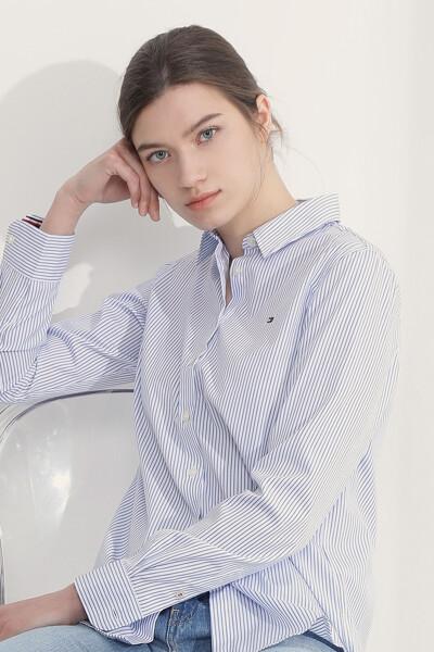 타미 클래식 스트라이프 셔츠
