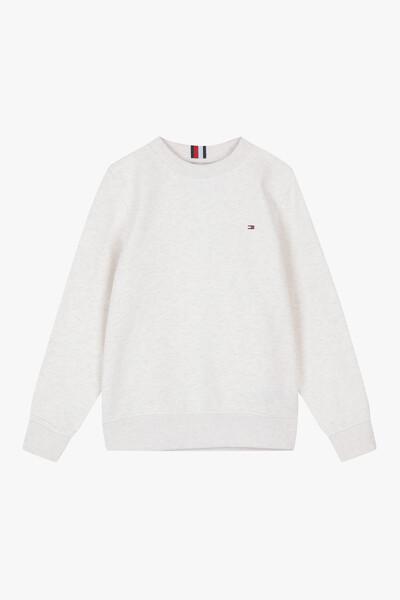 미니 플래그 크루넥 스웨트 셔츠